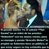 """El Soberano Beso entre """"Yiyo & Aracelis"""""""