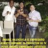 El empresario Peter Jiménez llega al país con el pie derecho
