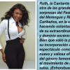 Ruth Representacion femenina del Festival del Merengue y  ritmos Tropicales