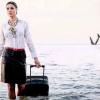 La imagen con la que una azafata 'predijo' la tragedia del avión EgyptAir