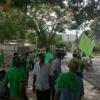 Miembros de Marcha Verde realizan piquete frente a oficinas de constructora Odebrecht