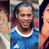 Ronaldinho y sus dos novias: el insólito casamiento del astro brasileño
