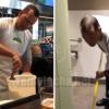 A-Rod pierde una apuesta y trabaja en un restaurante por un día