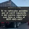 Reporte a los camiones que anden por la izquierda