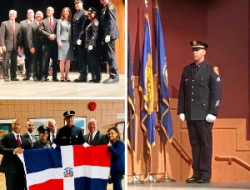 Dominicanos celebran promoción a Sargento Detective de Tulio Serrata en Suffolk County