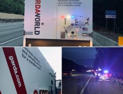 Camión blindado deja caer lluvia de billetes sobre una congestionada autopista de Atlanta