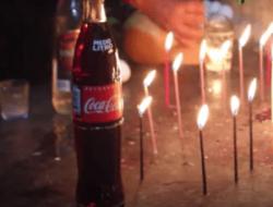 Comunidades indígenas que realizan rituales con Coca-Cola