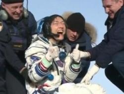 Astronauta de EEUU regresa a la Tierra tras batir récord femenino de permanencia en el espacio