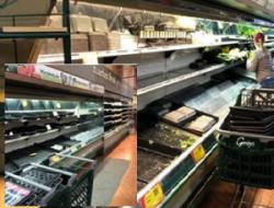 Mujer hace que supermercado perdiera $35,000 dólares al toser sobre alimentos