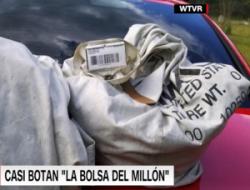 Familia encuentra casi 1 millón de dólares en efectivo y lo devuelve
