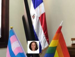 Viceministra promueve la inclusión y tolerancia con banderas LGBTI en su despacho