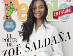 """Zoe Saldaña engalana la portada de People en Español dedicada a """"Los más influyentes"""""""