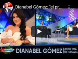 Dianabell Gómez en «Más Roberto» dice tiene 2 años separada y la «Boda Deportiva» no llega a esa fecha