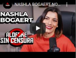 Nashla Bogaert su belleza no la define sino la profesionalidad de cada proyecto a los cuales se enfrenta.