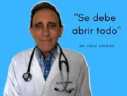 Dr. Cruz Jiminián recomienda reabrir todo y eliminar toque de queda