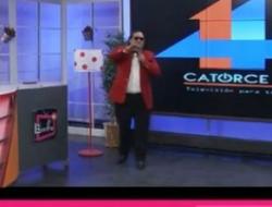 Alberto Bernabé (Bebeto) en el canal 14TV