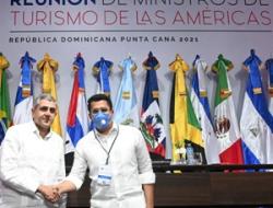 18 ministros de Turismo de Las Américas se comprometen lograr una rápida y sostenible recuperación de la industria