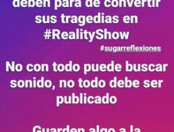 #sugarreflexiones Artistas y su Reality-Show