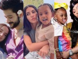 Explosión de creatividad: nombres inusuales de los famosos para sus hijos